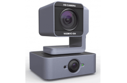 Dual-Eyes Tracking Video Conferencing PTZ Camera